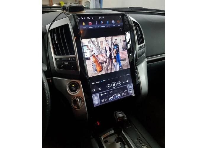 """Штатное головное устройство Tesla Style Ai-1806S High 2+32GB 16"""" TOYOTA LC200 2008-2015"""