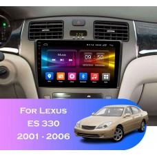 Штатная магнитола 2+32GB LEXUS ES 330 2001-2006