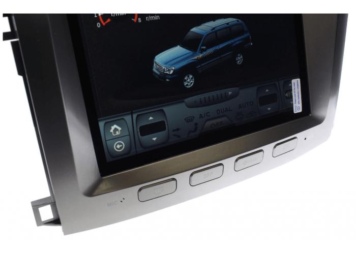 Штатное головное устройство Tesla Style TOYOTA LAND CRUISER 100 2002-2007