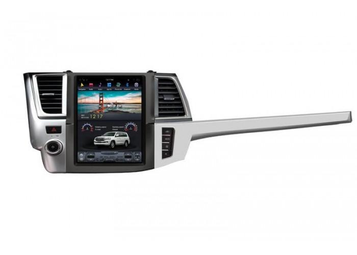 Штатная магнитола Tesla Style Toyota Highlander 3 2013-2017
