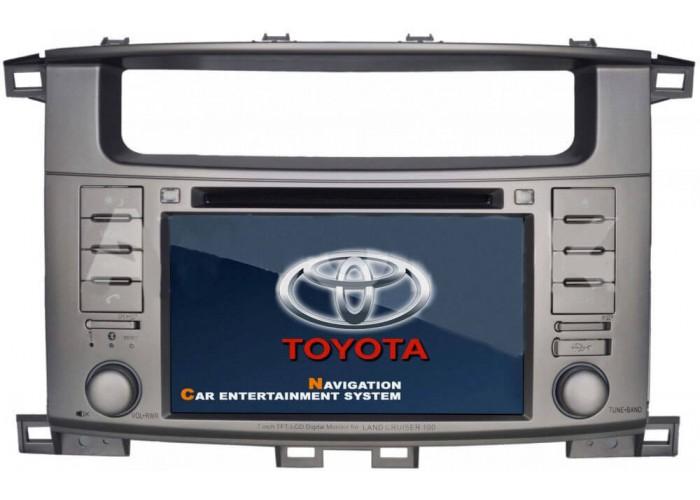 Штатная автомагнитола для Toyota Land Cruiser 100