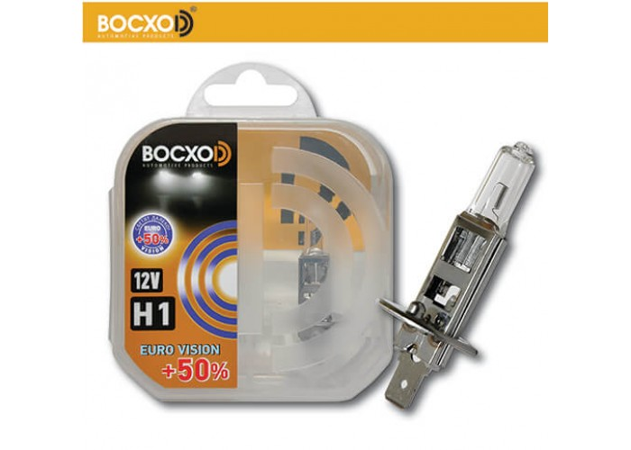Галогенная лампа BOCXOD H1 EURO VISION