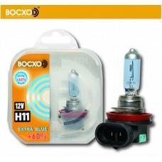 Галогенная лампа BOCXOD H11 EXTRA BLUE
