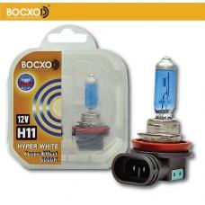 Галогенная лампа BOCXOD H11 HYPER WHITE