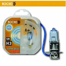 Галогенная лампа BOCXOD H3 EXTRA BLUE