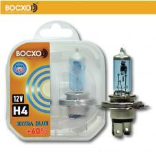 Галогенная лампа BOCXOD H4 EXTRA BLUE