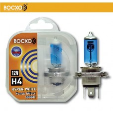 Галогенная лампа BOCXOD H4 HYPER WHITE 5000K