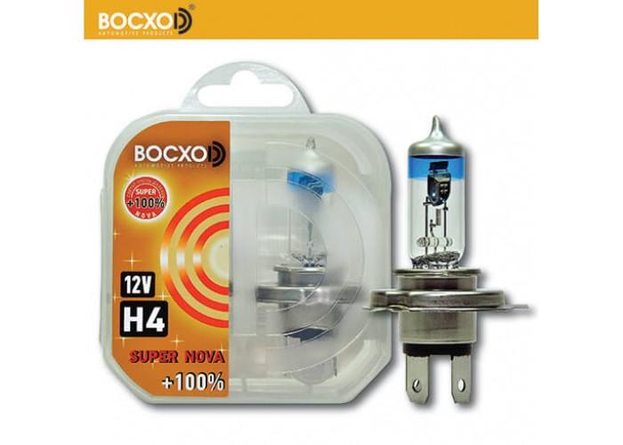 Галогенная лампа BOCXOD H4 SUPER NOVA