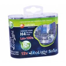 Галогенная лампа Диалуч H4 +100% Eco Light Sirius
