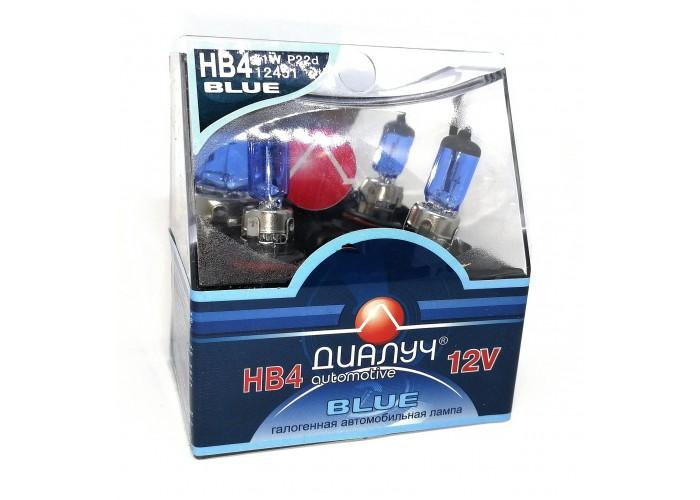 Галогенная лампа Диалуч HB4 BLUE
