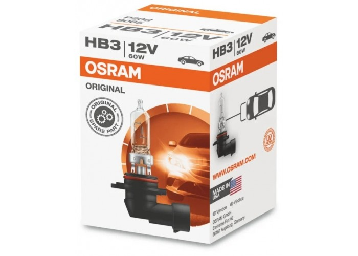 Галогенная лампа OSRAM HB3 Original