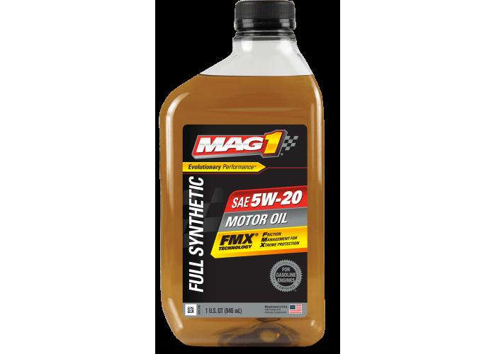 Моторное масло Mag1 Full Syn FMX 5W20 1Qt