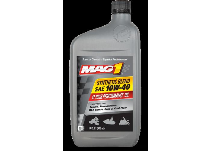 Моторное масло Mag1 Syn Blend 4T 10W40 1Qt