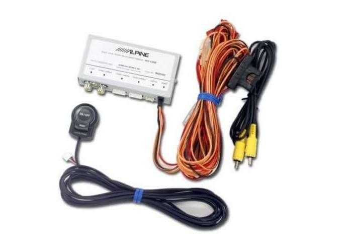 Интерфейс для подключения камер ALPINE KCX-C200B