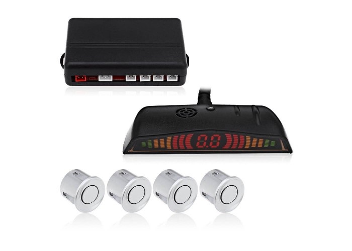 Парктроники Parking Sensor CRS 6100 СЕРЫЕ