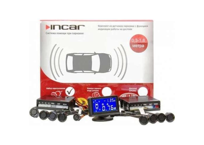 Парковочная система INCAR  PT-208B