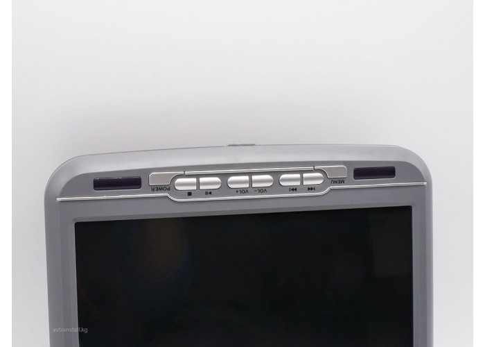 Монитор  потолочный DVD 9 серый