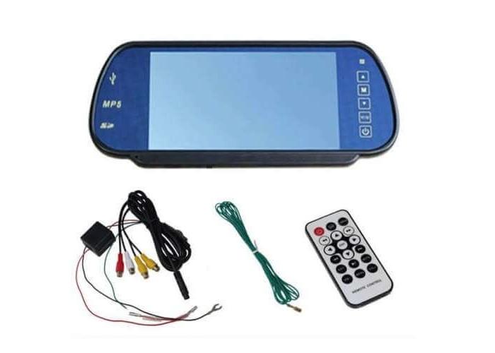 """TFTМонитор-зеркало 7"""" USB"""