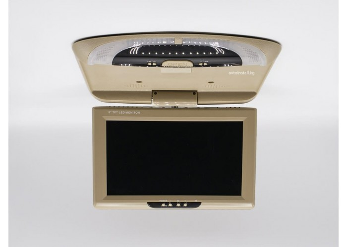 Монитор потолочный ViewTech 9 Бежевый 2 видеовхода