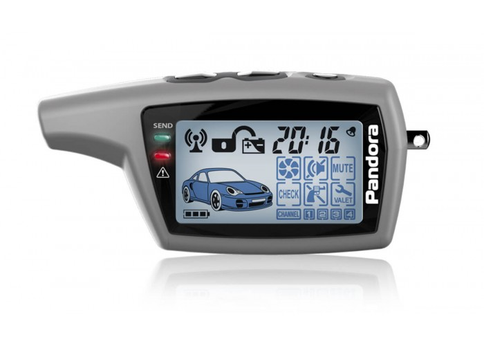 Автосигнализация Pandora Base DX40 LCD DXL077