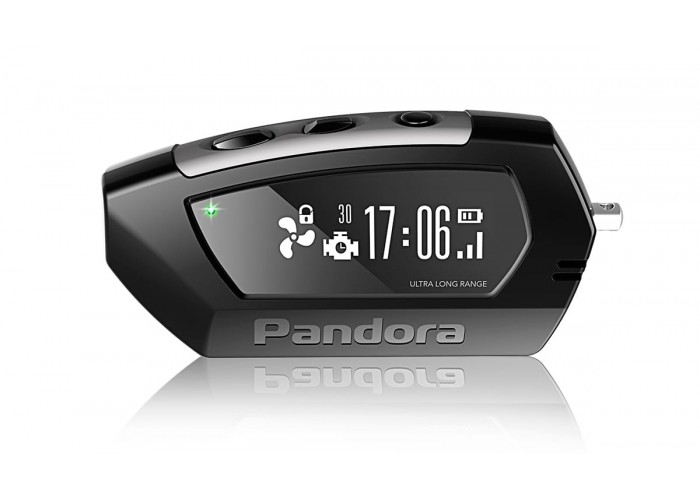 Брелок Pandora LCD D010 black для DX90