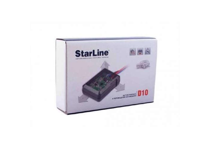 Датчик наклона и перемещения автомобиля StarLine D10