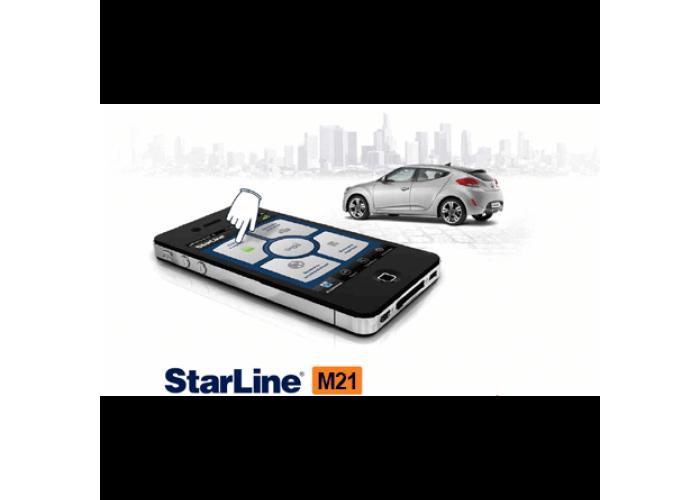 Охранно-телематический модуль StarLine M21