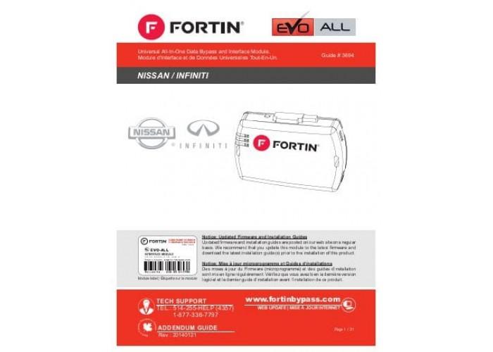 Обходчик FORTIN EVO-ALL (Nissan, Infinity)