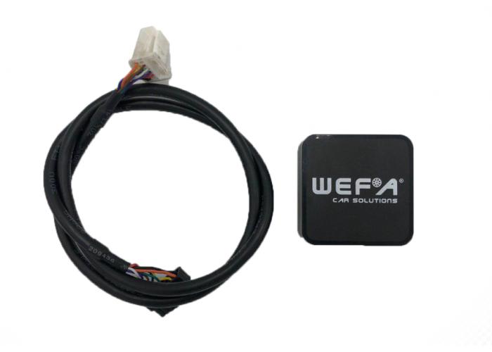 Адаптер WEFA Toyota 6+6 USB/AUX