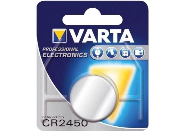 БАТАРЕЙКА VARTA CR2450 LITHIUM