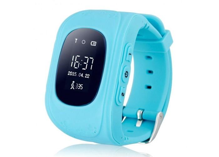 Детские часы с GPS LED Q50