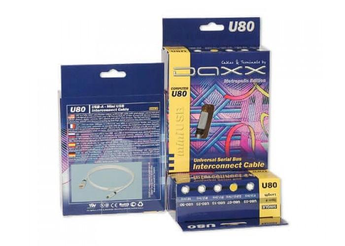 DAXX U80-25 КАБЕЛЬ USB-miniUSB 2.5м
