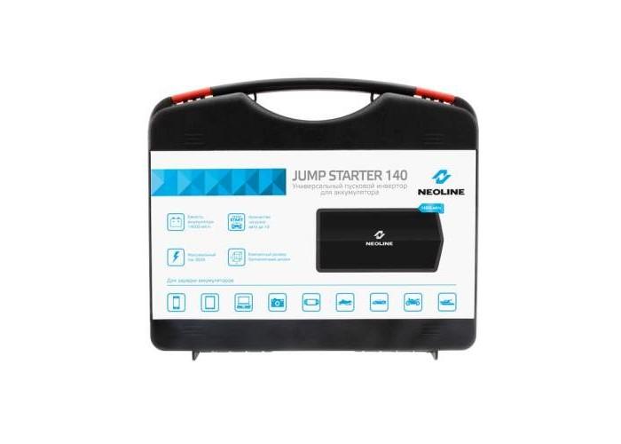Портативное пусковое устройство Neoline Jump Starter 140