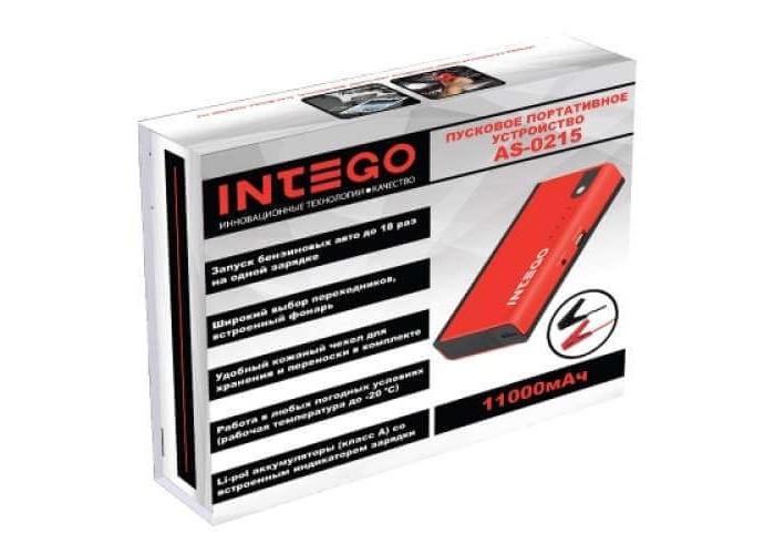 Портативное пусковое устройство INTEGO AS-0215