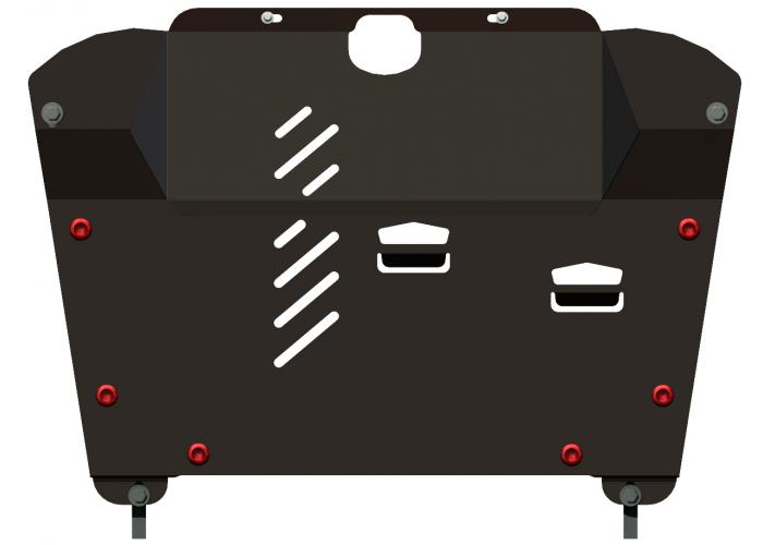 Защита картера и защита АКПП Lexus RX300 RX330 RX350