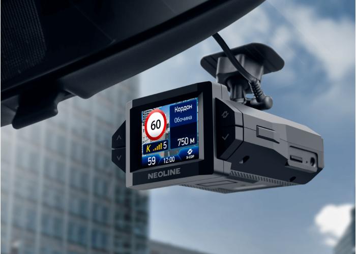 Гибрид радар - детектора и видеорегистратора Neoline X-COP 9300c