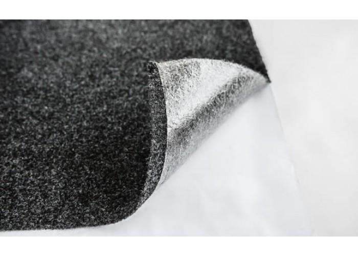 Уплотнительно-декоративный материал Карпет Российский Графит+клеевой слой 3мм 1.4мм