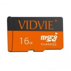 Карта памяти microSDНC Vidvie 16Gb class10