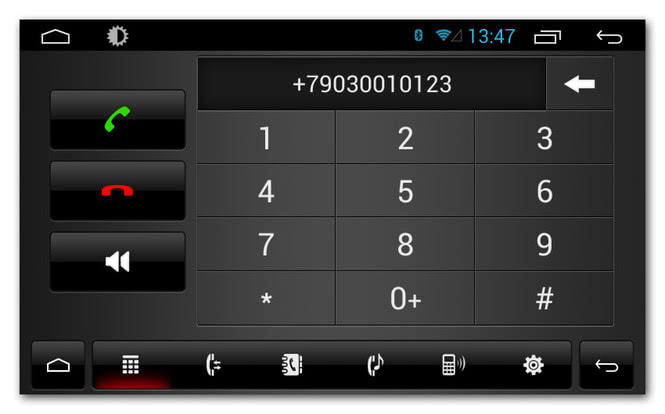 Функция громкой связи позволит безопасно разговаривать по телефону во время движения